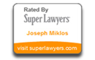 Super Lawyers Joseph Miklos